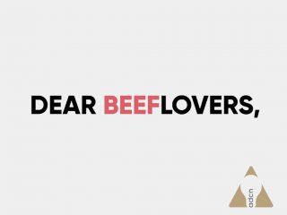 Dear beeflovers,